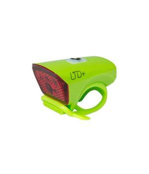 """Фонарь задний LTD+ """"Красный светодиод"""" зеленый CUBE, код 13958"""
