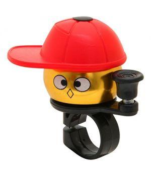Велосипедный звонок STG Мальчик в кепке