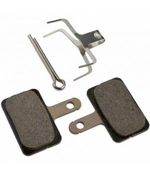 Тормозные колодки Shimano B01S для дисковых тормозов, пара, полимерные