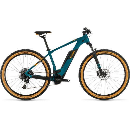 Электровелосипед Cube Reaction Hybrid Pro 500 pinetree/orange (2020)