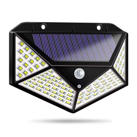 Настенный светильник с Led-датчиком движения на солнечной батарее