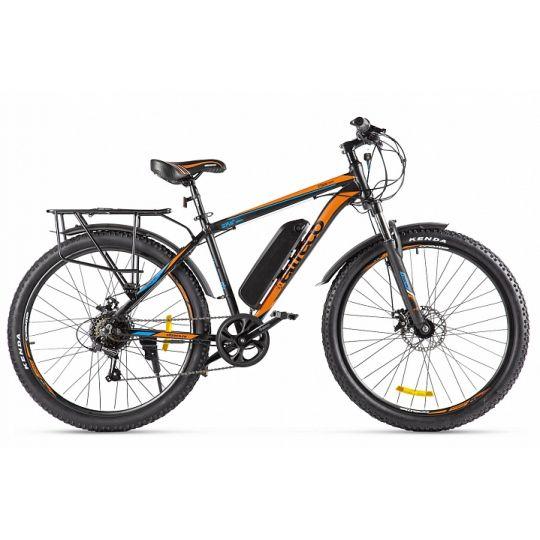 Электровелосипед Eltreco XT800 (2020) черный/красный