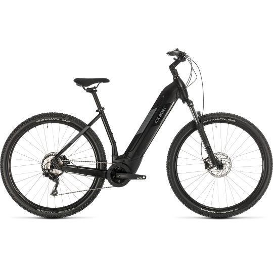 Электровелосипед Cube Nuride Hybrid Pro 500 black/grey (2020)