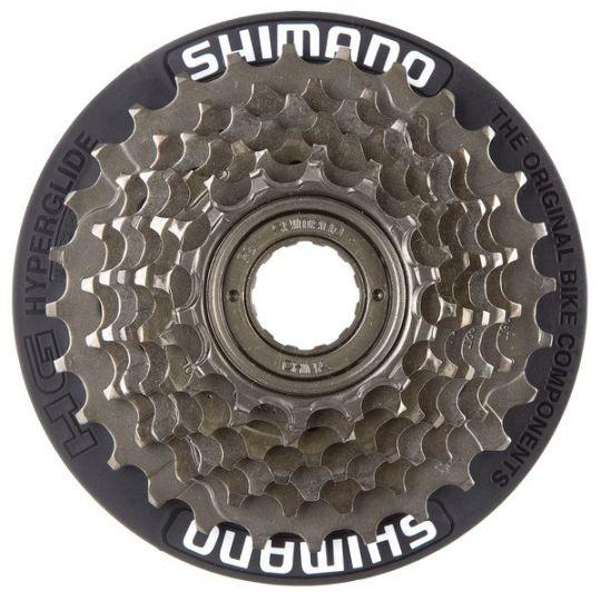 Трещотка Shimano, TZ500, 7ск, 14-28, защ чер, AMFTZ21CP7428T