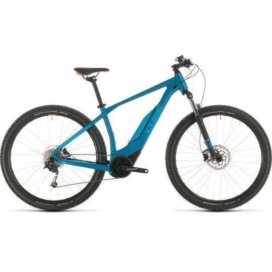 Электровелосипед Cube Acid Hybrid ONE 500 29 blue/orange (2020)