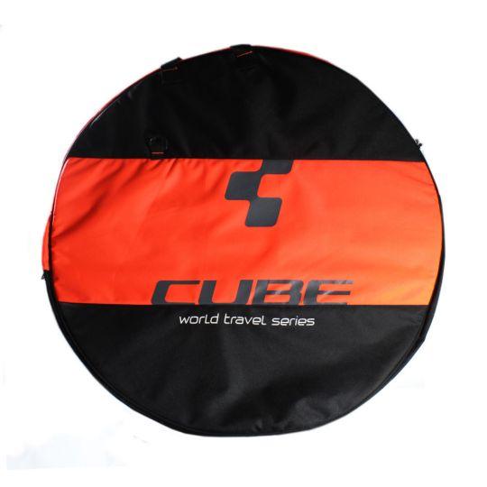 Сумка велосипедная черная CUBE, код 12036