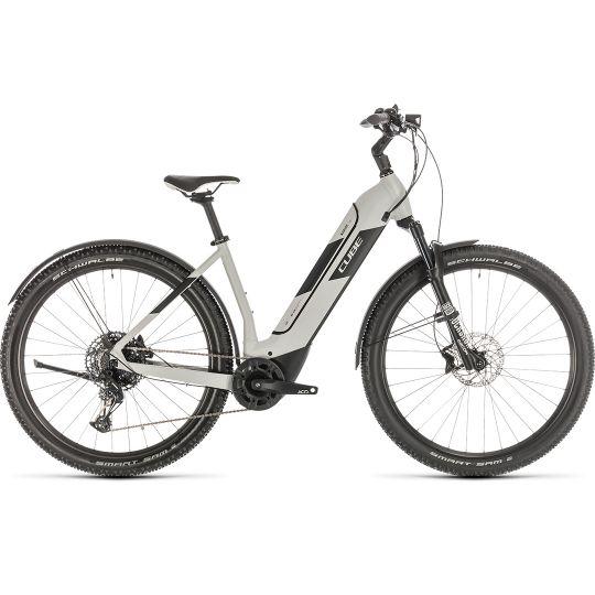 Электровелосипед Cube Nuride Hybrid EXC 500 Allroad grey/black (2020)