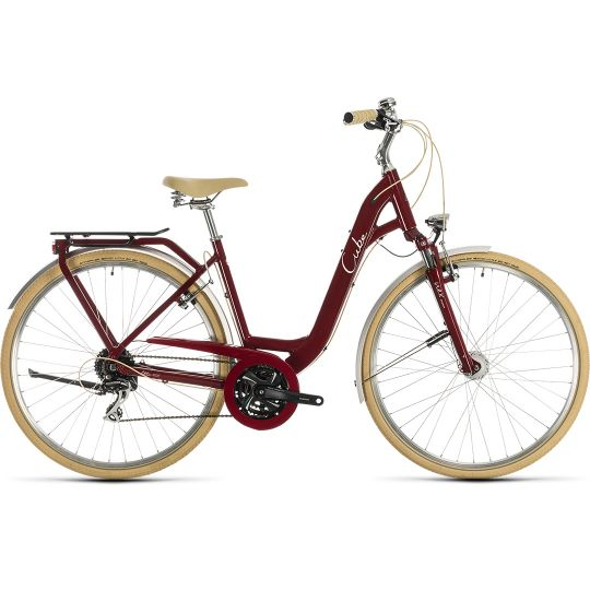 CUBE Ella Ride EE 49 2020 (красный)