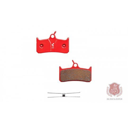 Тормозные колодки для дисковых тормозов (Shimano DeoreXT), CUBE/RFR, 10026