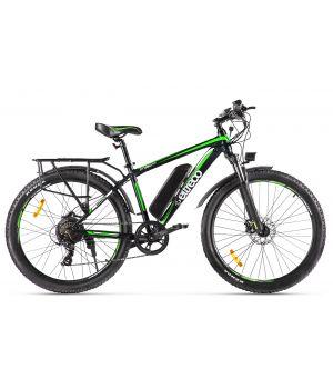 Электровелосипед Eltreco XT850 (2020) черный/зеленый