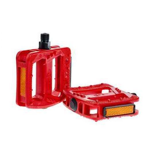 Педали RFR Pedale Flat HQP CMPT red, код 14178