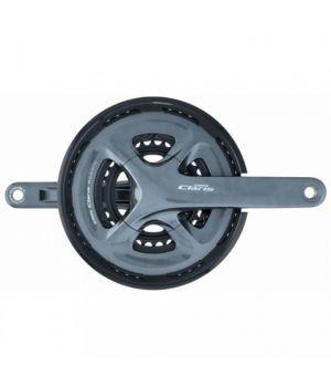Система SHIMANO CLARIS, R2030, 175мм, интегрированный вал, 8 скоростей с защитой 50/39/30T