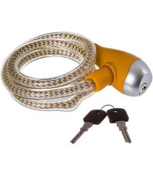 Велозамок STG с ключами. TY560-1, цвет прозрачный