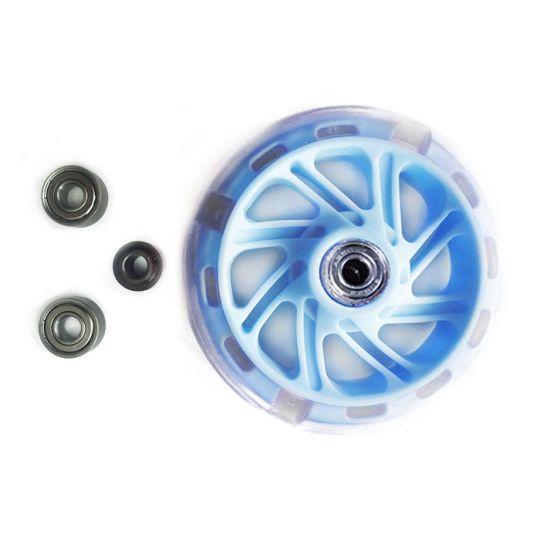 КХ12СМ Колеса для самоката Kaixin toys голубые