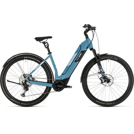 Электровелосипед Cube Nuride Hybrid SL 625 Allroad blue/blue (2020)
