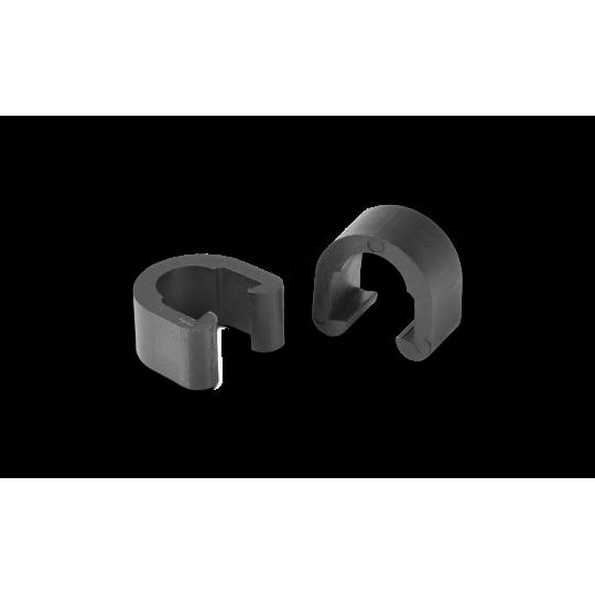 Пластиковые зажимы Cube RFR C-Clip black, код 10485