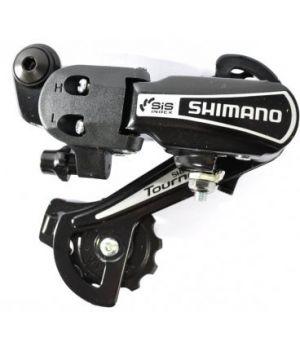 Переключатель задний Shimano Tourney TY21-B GS, 6 скоростей крепление на болт
