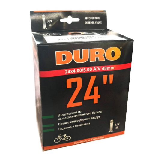 Велокамера 24x4.00/5.00 A/V-48 DURO