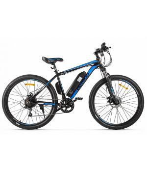 Электровелосипед Eltreco XT600 2021 (черный/синий)