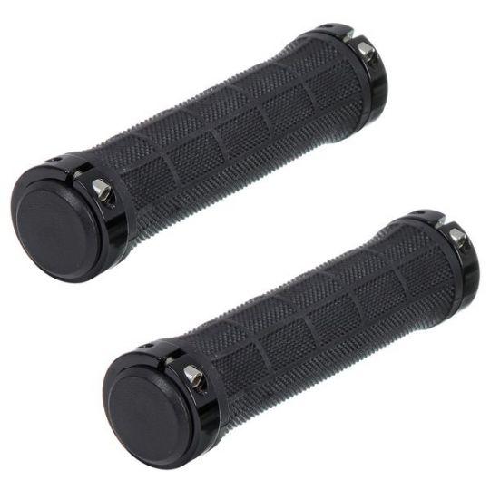 Грипсы STG, HL-G309, 130 мм, черный, инд. уп.