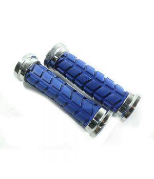 Ручки руля вело (декоративные, синие)