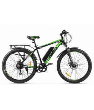Электровелосипед Eltreco XT800 (2020) черный/зеленый