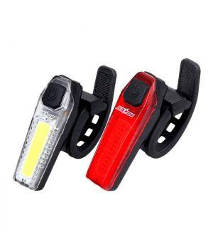 Водостойкий фонарь велосипедный заряжаемый от USB
