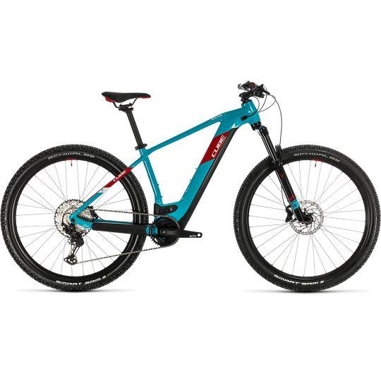 Электровелосипед Cube Reaction Hybrid EXC 500 29 petrol/red (2020)