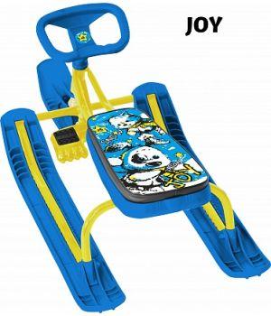 Снегокат Тяни-Толкай с автоматической рулеткой Joy