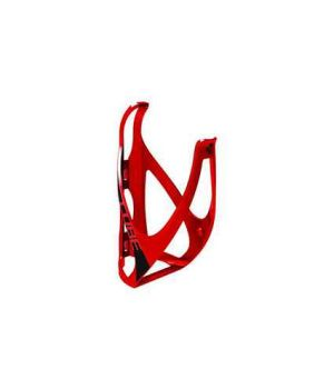 Флягодержатель CUBE Flaschenhalter HPP matt red / black, код 13015