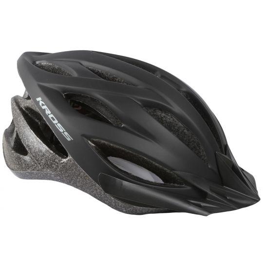 Шлем велосипедный KROSS BORAO L серый