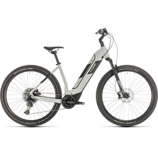 Электровелосипед Cube Nuride Hybrid EXC 625 grey/black (2020)