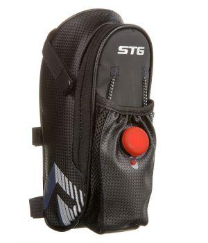 Велосумка STG 131396, под седло, черная