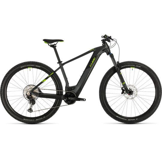 Электровелосипед Cube Reaction Hybrid EXC 500 29 iridium/green (2020)