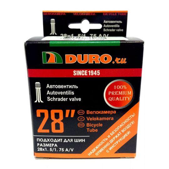 Велокамера 28x1.50/1.75 A/V (37/47-622) DURO