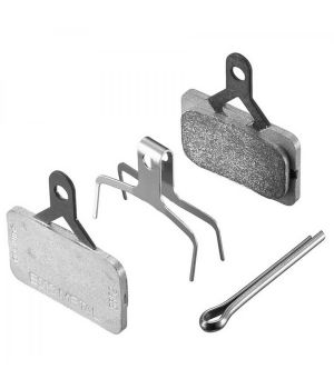 Тормозные колодки, для дисковых тормозов SHIMANO G03A, полимерные, пара, с пружин с шплинтом