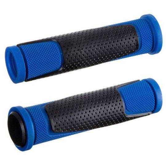Грипсы HL-G305, 135 мм, черные/синие