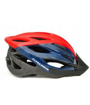 Шлем велосипедный KROSS BORAO M синий