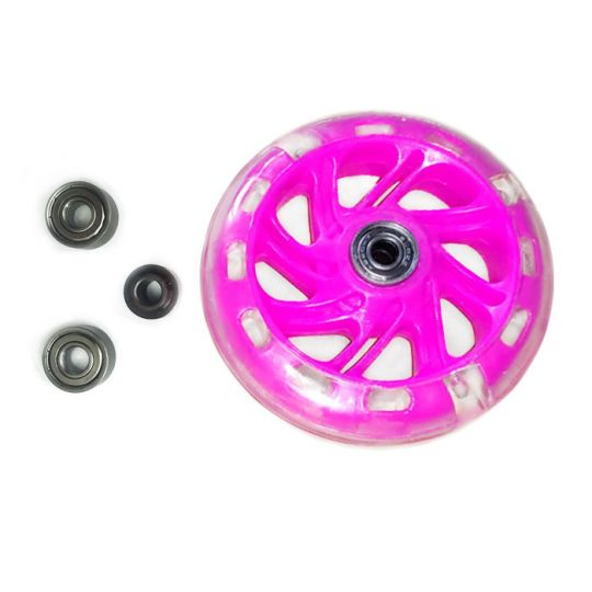 КХ12СМ Колеса для самоката Kaixin toys тёмно-розовые