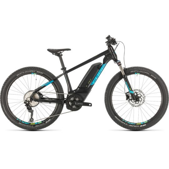 Электровелосипед Cube Acid 240 Hybrid Youth SL 400 black/blue (2020)