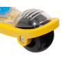 Самокат Novatrack Rainbow Pro Button (синий/желтый)