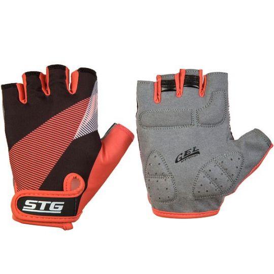 Перчатки STG летние, размер ХЛ, черно-красный