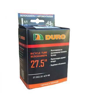 Велокамера 27.5x2.10/2.35 A/V-48 (54-584) DURO