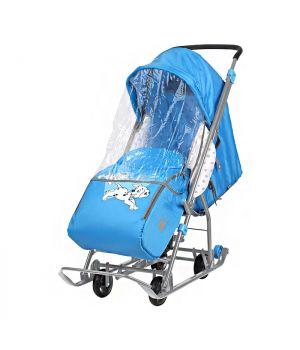 Санки-коляска Disney Baby 1 DB1/4, Далматинец голубой