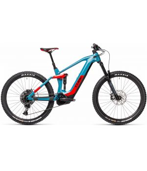 Cube Stereo Hybrid 160 HPC Race 625 27.5 blue / red 2021