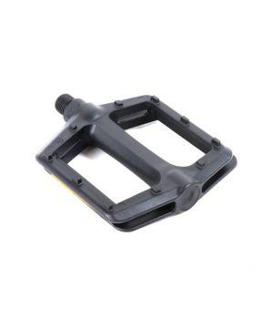 Педали Author BMX APD-F13-Cmp, широкие, пластик, ось Cr-Mo, черные