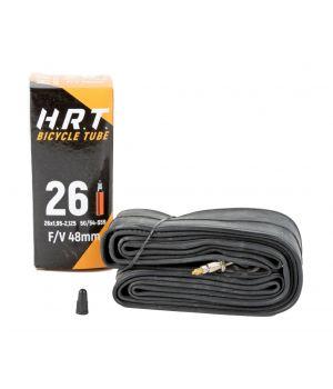 """Камера H.R.T. 26"""" 1.95-2.125 (50/54-559), Presta 48 мм"""