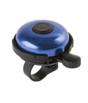 Звонок сталь/пластик D=45мм, черно-синий