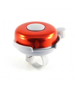 Звонок H-017B сталь/пластик D=53 мм, серо-красный
