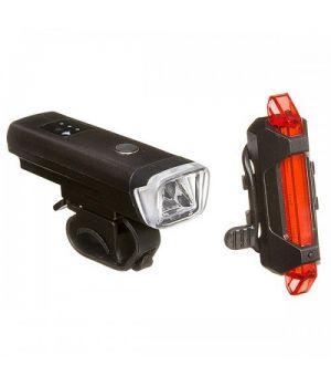 Комплект фонарей STG TL5411 + FL1559, USB, 220 mAH